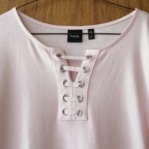 NWT, Rafaella, short sleeve top
